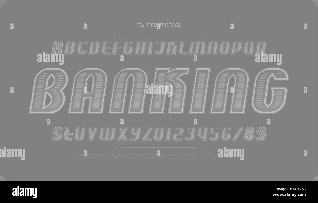 Bank note style alphabet letters and numbers vector money font bank note style alphabet letters and numbers vector money font type design italics lettering symbols stylish contour typesetting outline italic buycottarizona Gallery