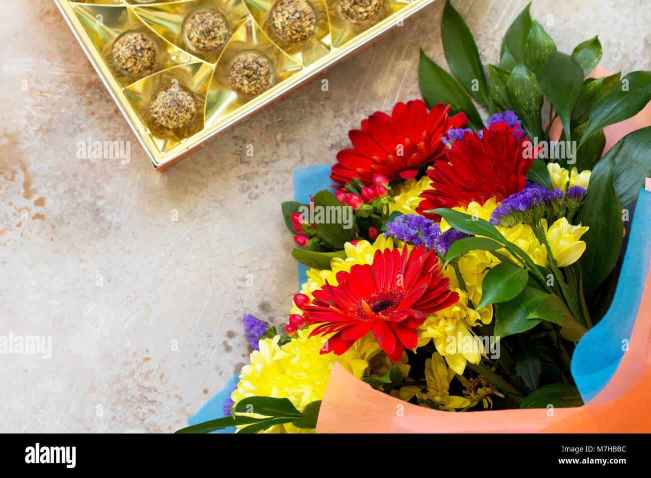 blue bouquet story