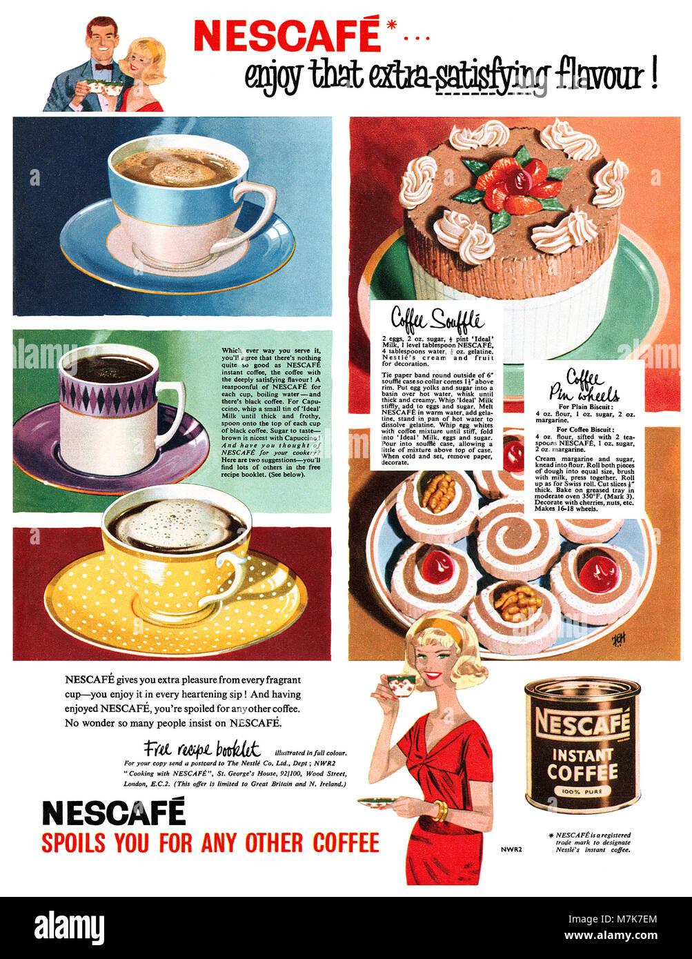 Nescafe Advert Stock Photos & Nescafe Advert Stock Images - Alamy
