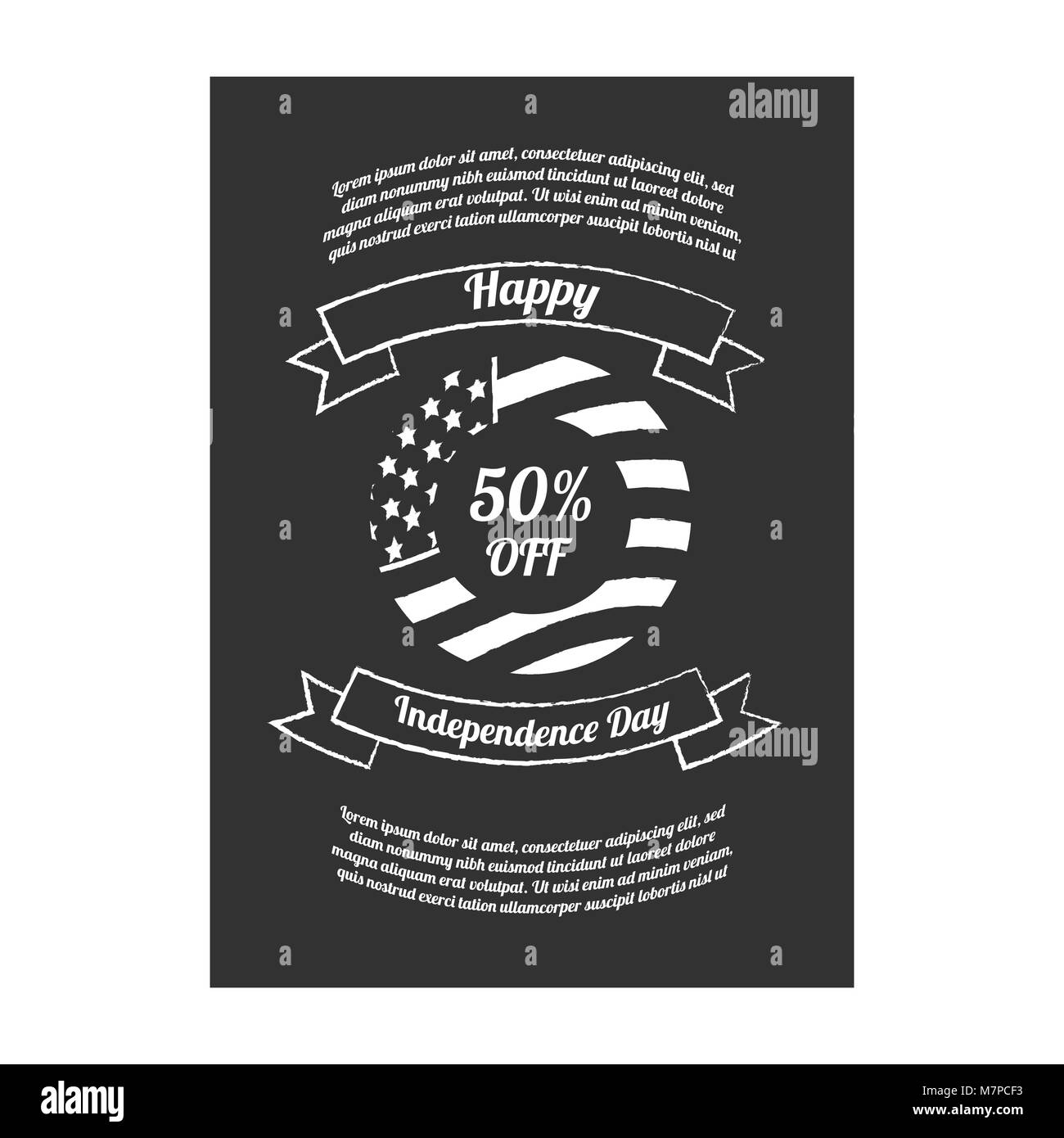 Happy Independence Banners Paper Craft Banners