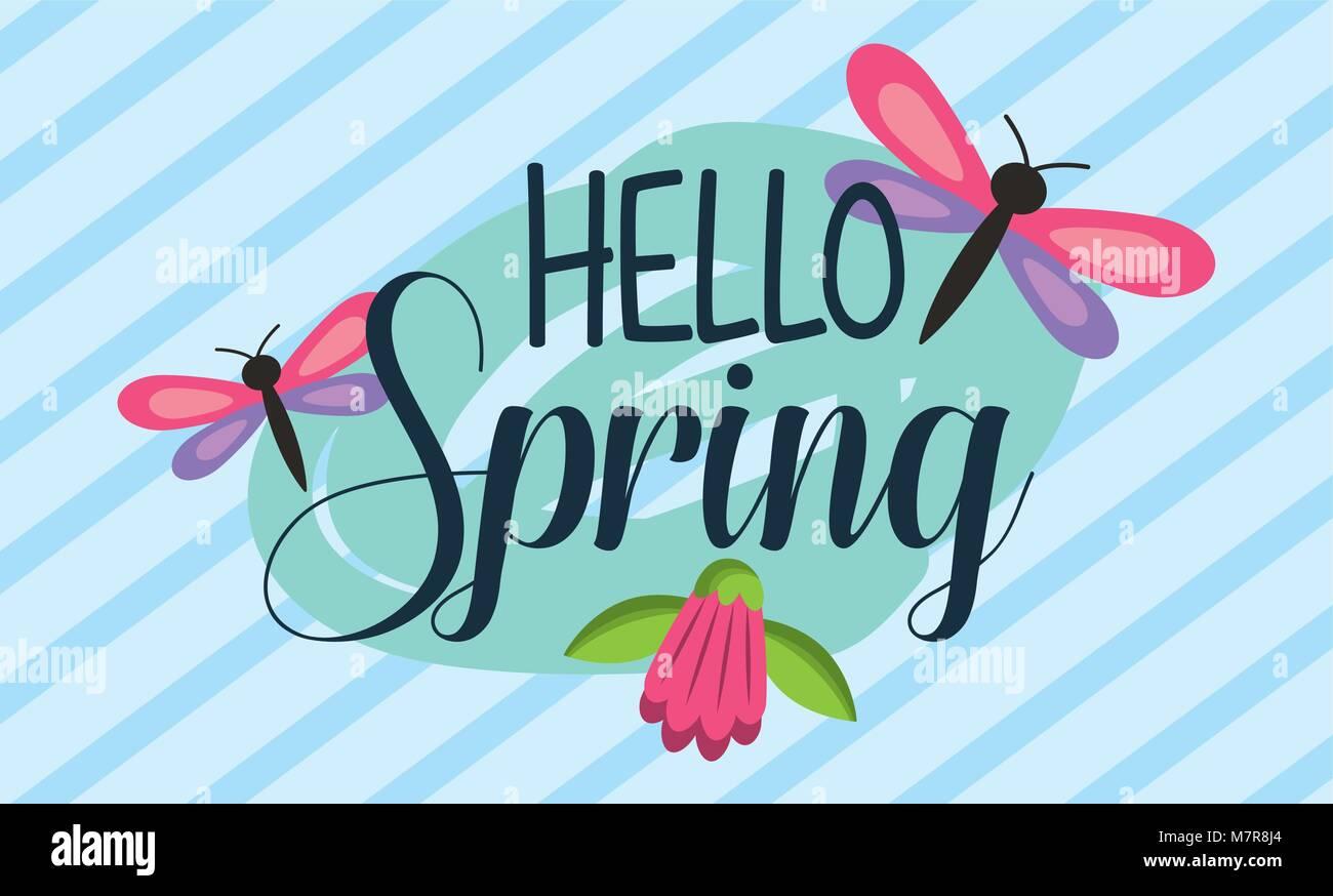 Hello Spring Card