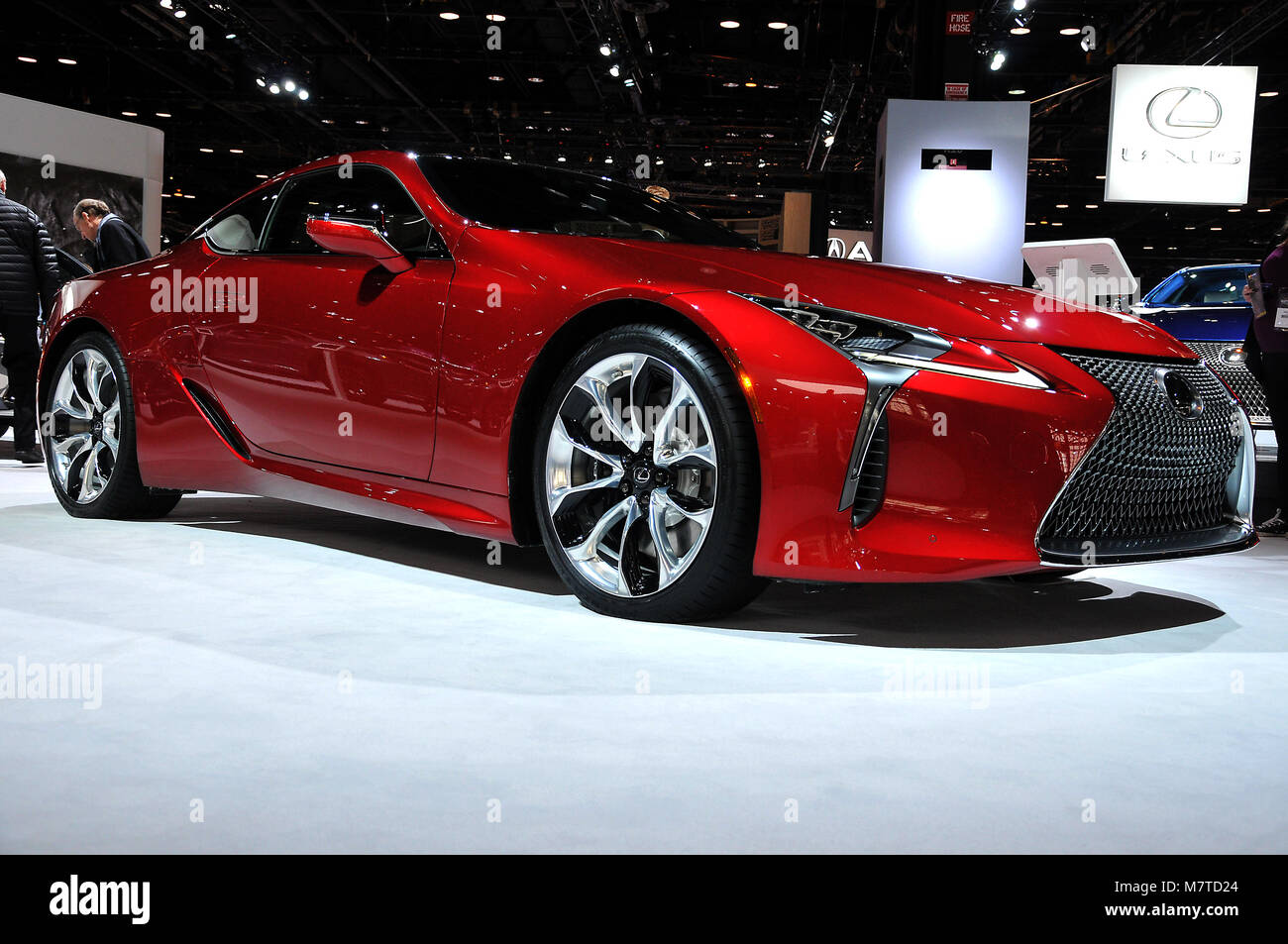 The 2018 Chicago Auto Show Press Preview At McCormick Place In Chicago IL,  USA Featuring