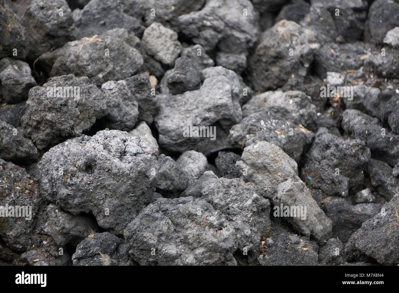 Coal Slag Rock : Burnt stones stock photos images alamy
