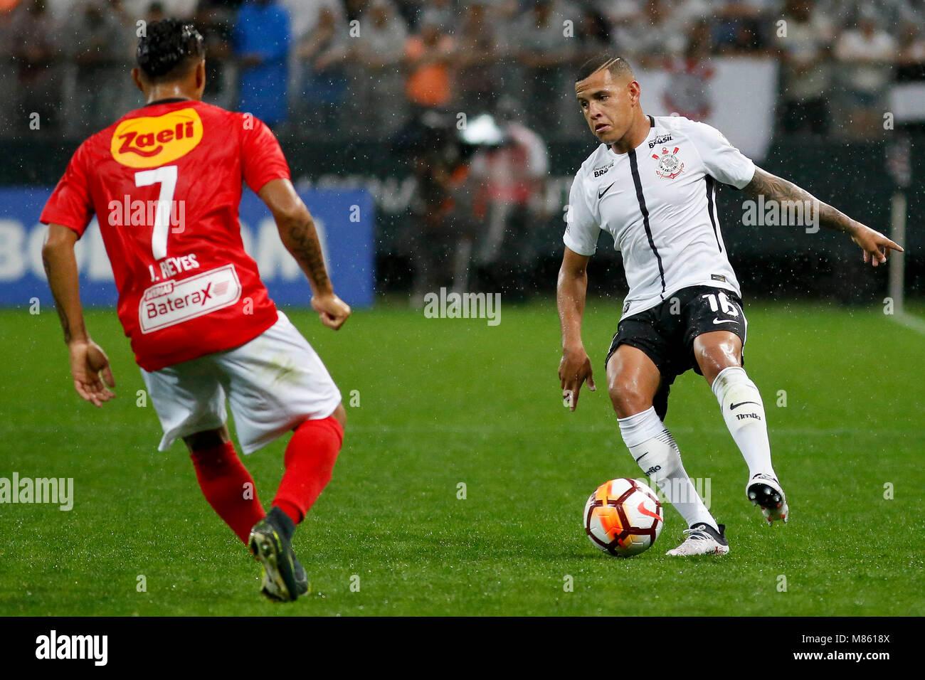 Sao Paulo Sp  Corinthians X Deportivo Lara Sidcley During