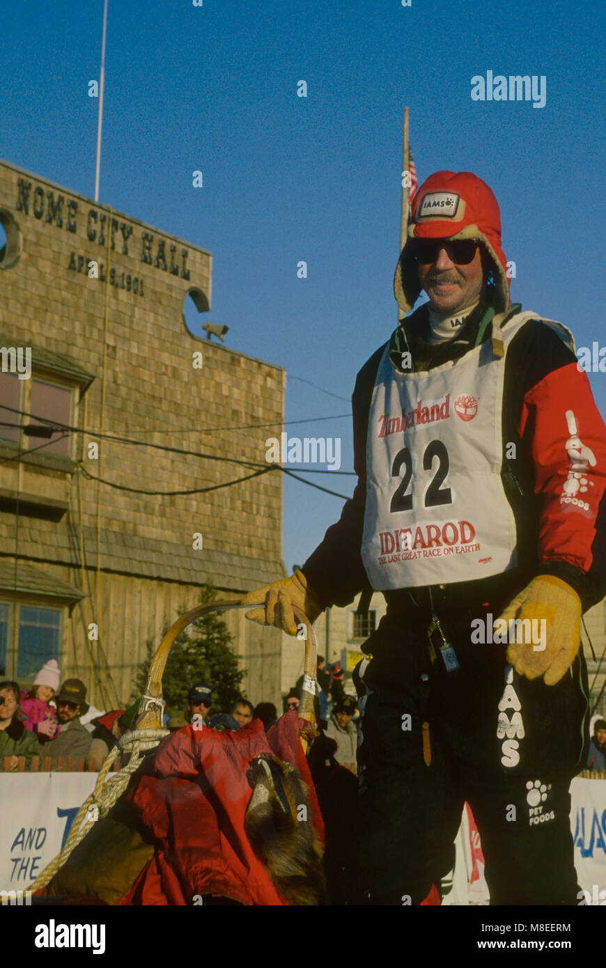 Veteran Iditarod musher and multiple winner Rick Swenson at the ...