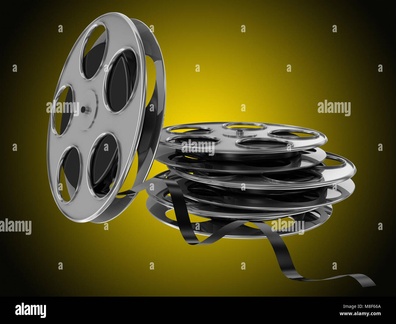 Famous Movie Reel Decor Wall Gallery - Wall Art Collections ...