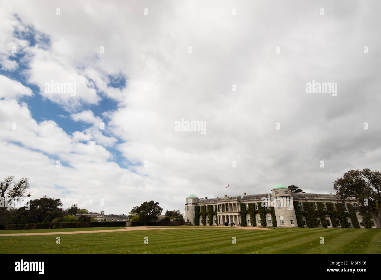 Airport car park uk stock photos airport car park uk stock images goodwood house on the goodwood estate on a spring day near chichester west sussex kristyandbryce Images
