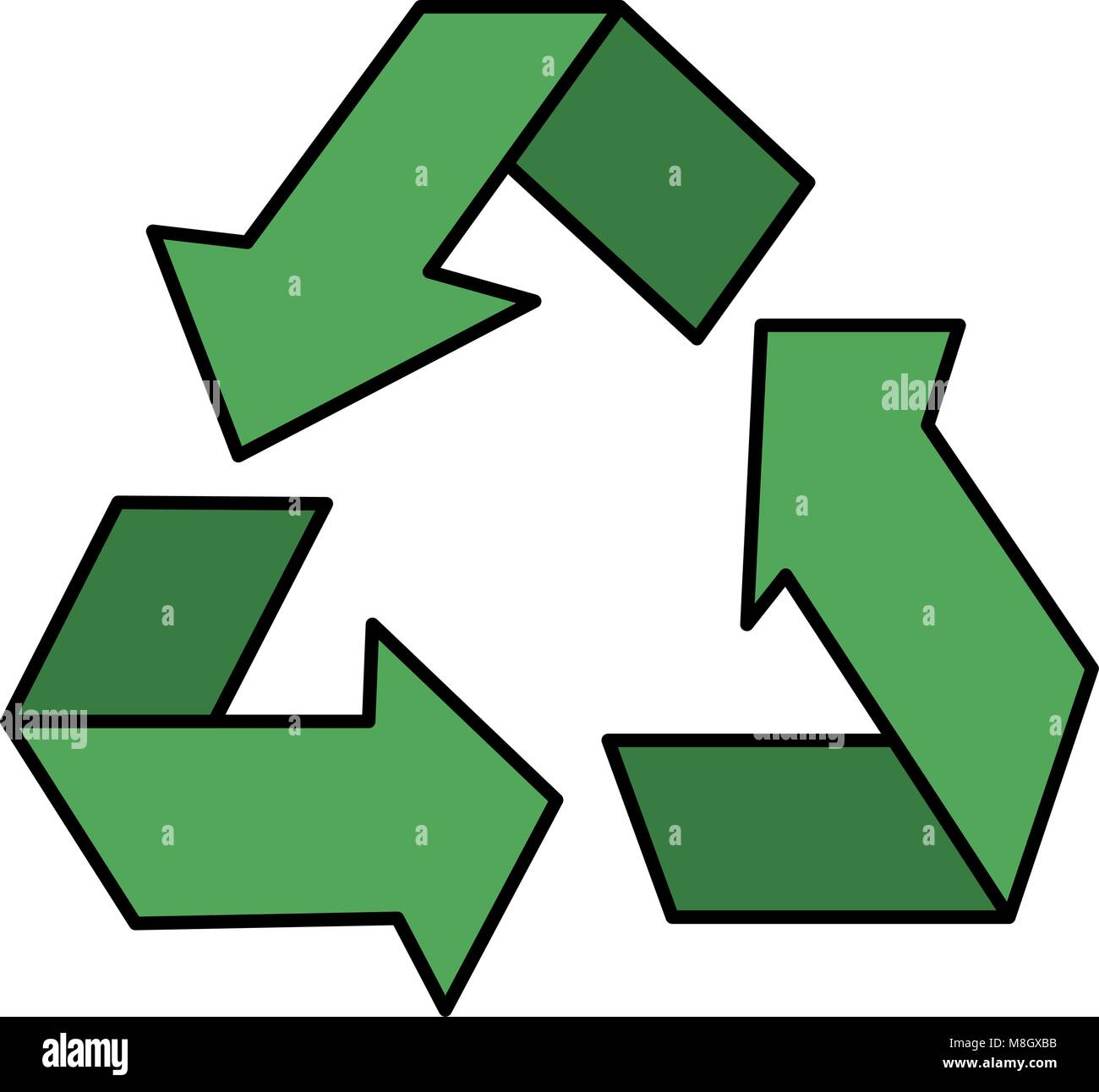 Waste product stock vector images alamy recycle arrows symbol icon vector illustration design stock vector buycottarizona Choice Image