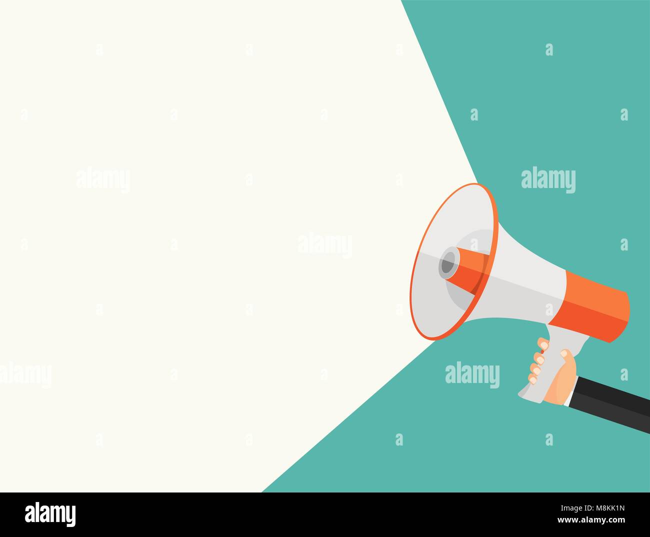 Announce Advertisement Poster Background Vector Illustration