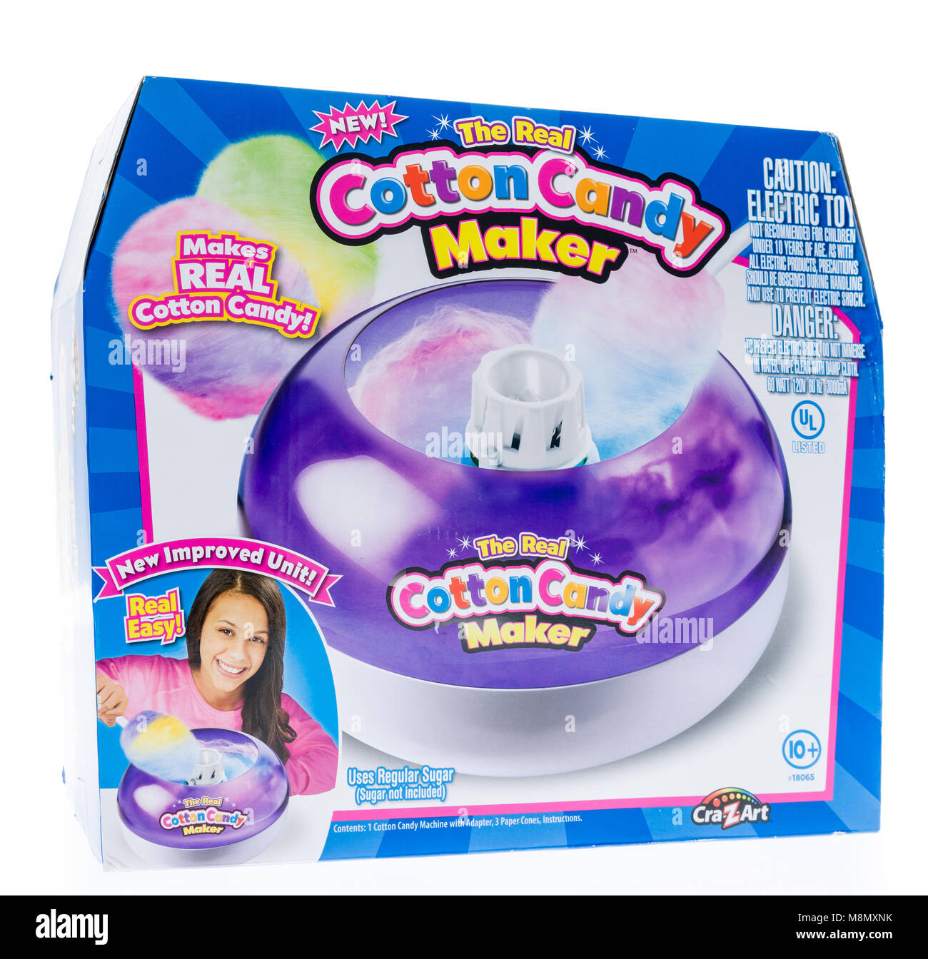 cra z art cotton candy maker instructions