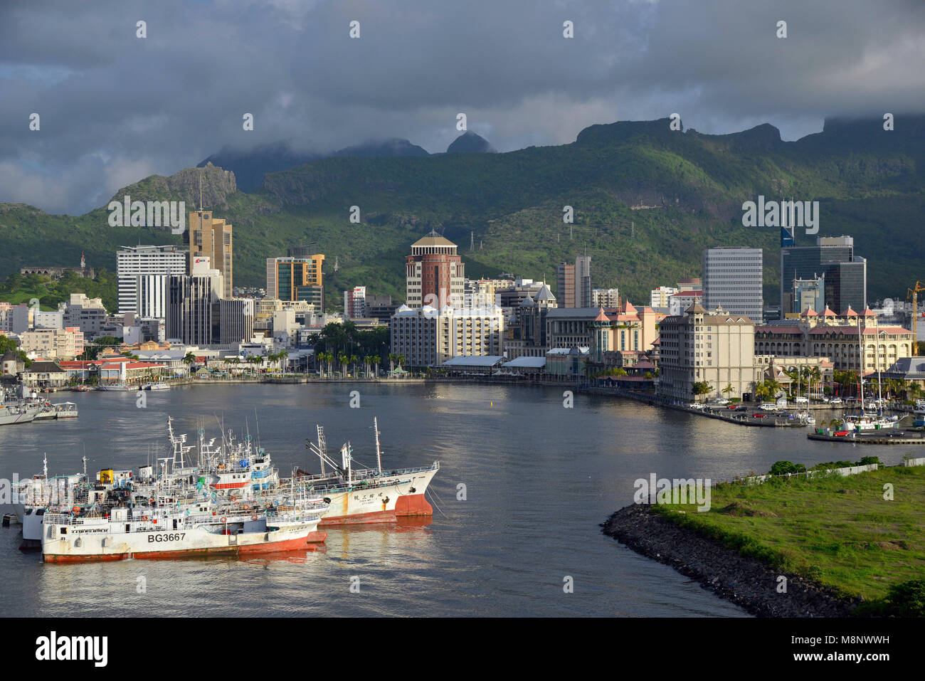 Holidays in port louis stock photos holidays in port louis stock images alamy - First restaurant port louis ...