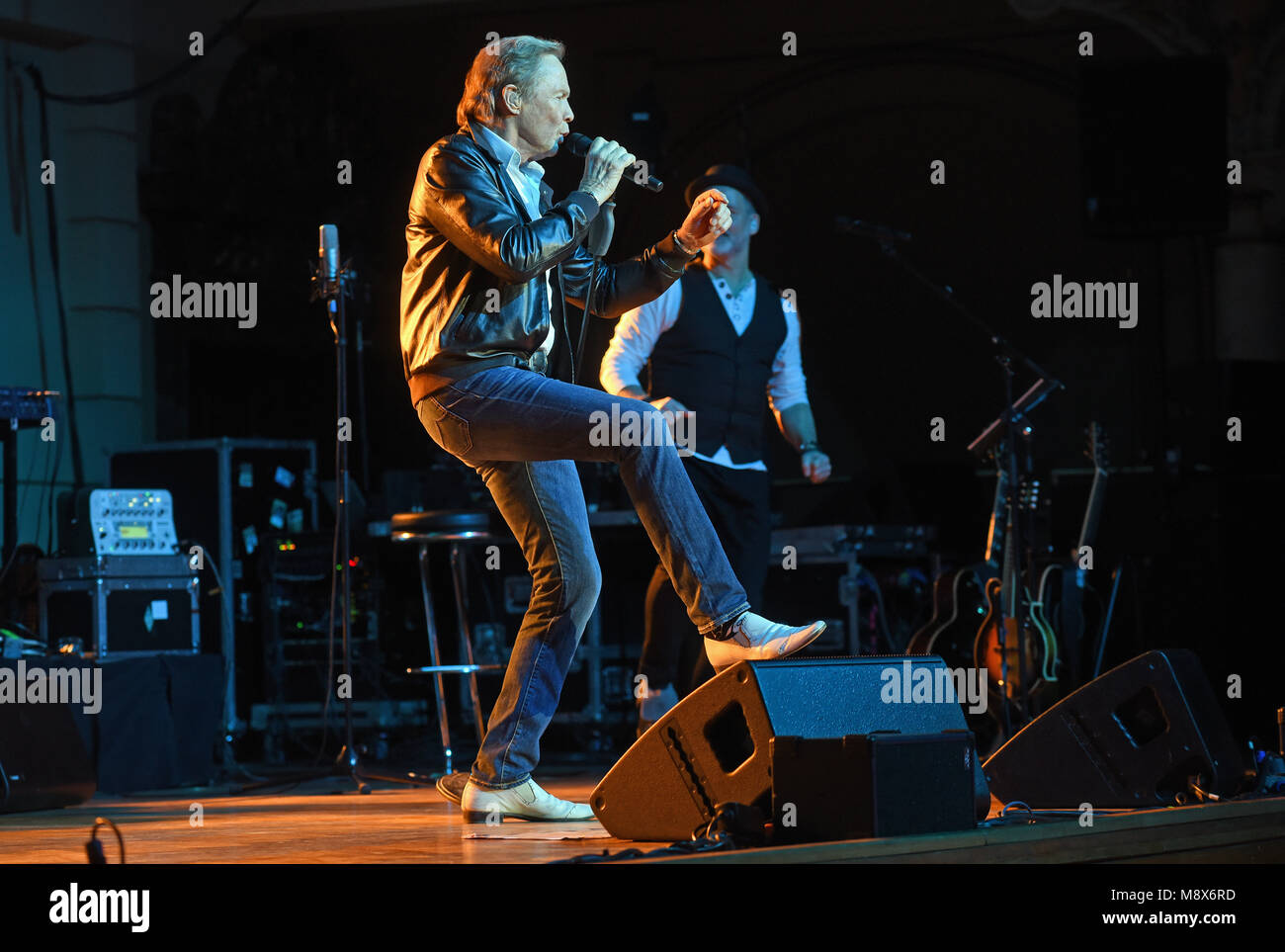 20 March 2018, Germany, Wuppertal: Singer and actor Peter Kraus on ...