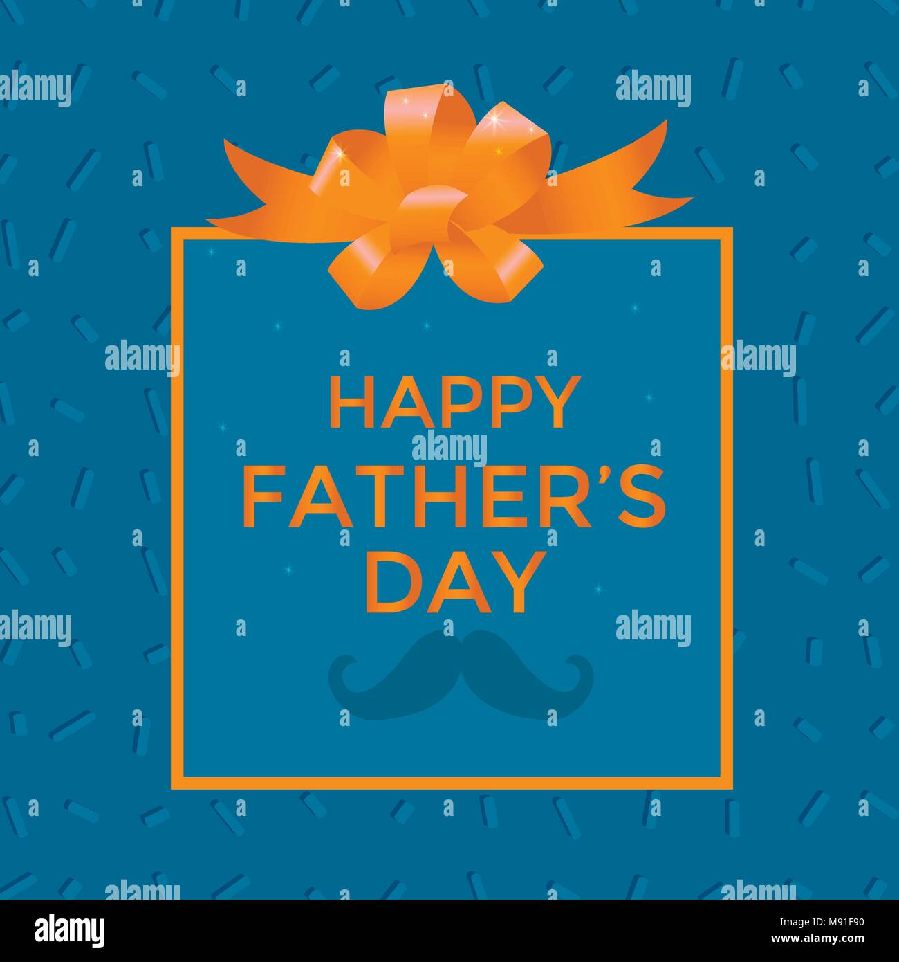 Happy Fathers Day Sale Vector Illustration For Promotion Poster