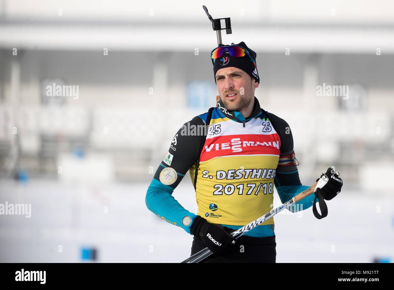 Biathlon in 2017-2018: World Cup 27
