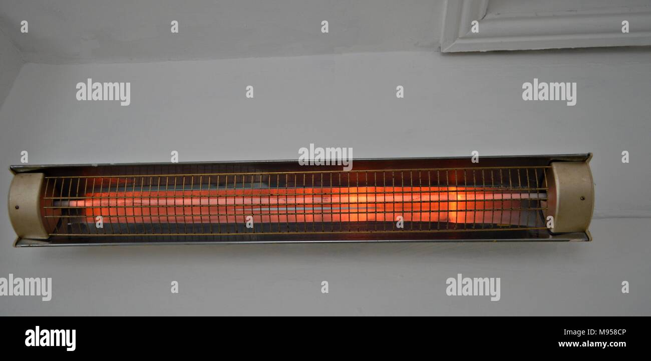 Electric Heater Wall Stock Photos Electric Heater Wall Stock Images Alamy
