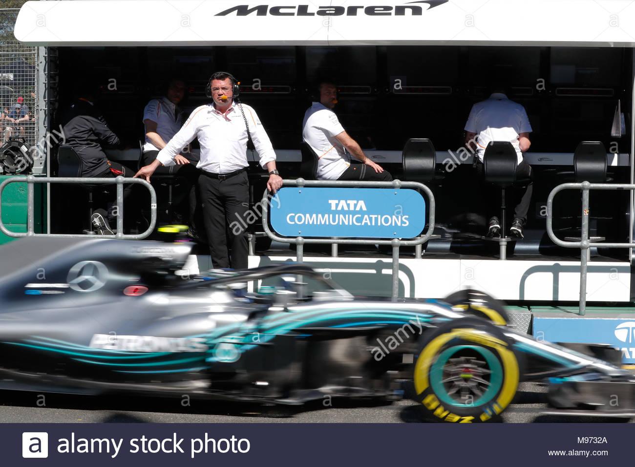 Melbourne Grand Prix Circuit Australia March 23 Eric Boullier