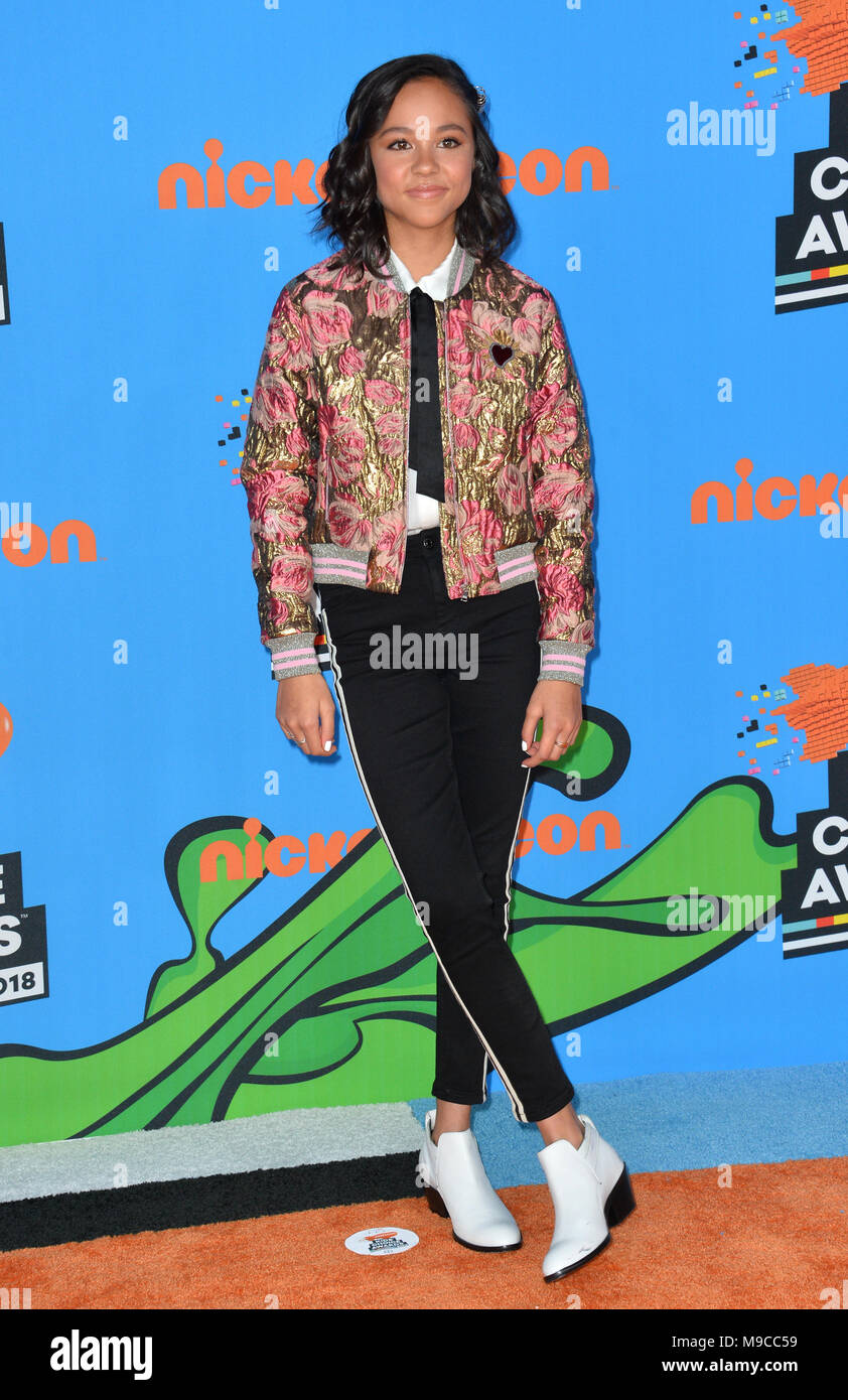 Los angeles ca march 24 2018 breanna yde at nickelodeons 2018 march 24 2018 breanna yde at nickelodeons 2018 kids choice awards at the forum picture sarah stewart credit sarah stewartalamy live news thecheapjerseys Image collections