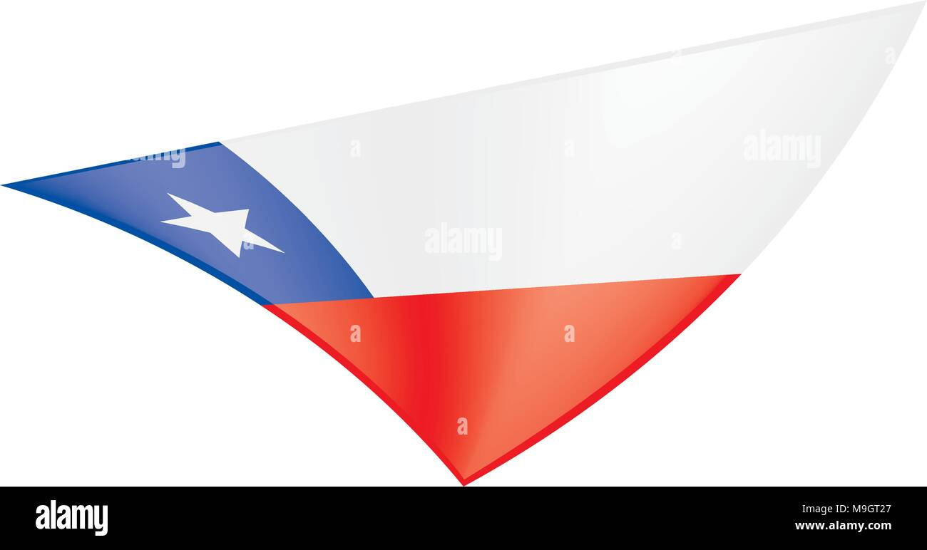 Symbol chile stock photos symbol chile stock images alamy chile flag vector illustration stock image biocorpaavc Images