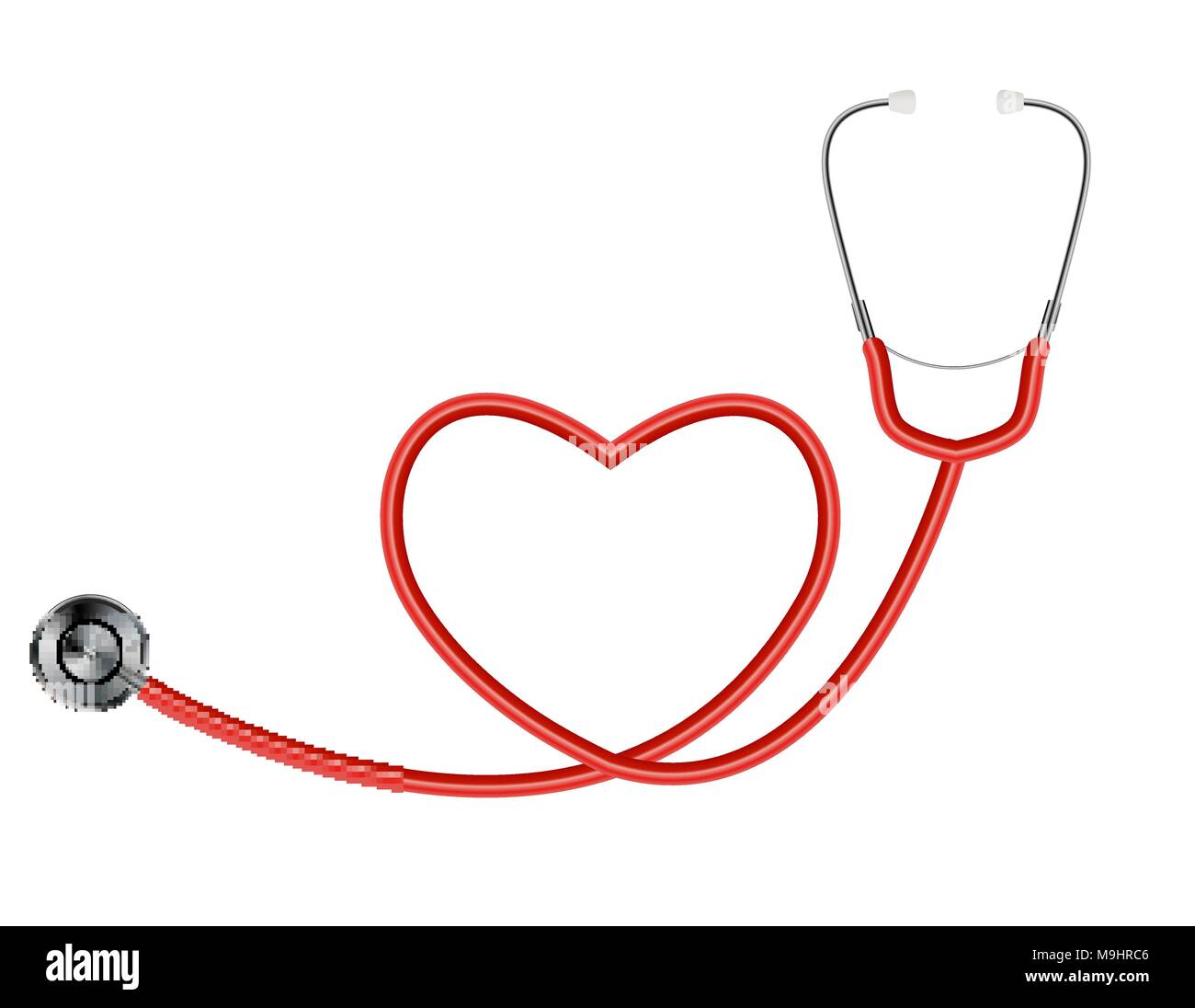 Stethoscope heart medical symbol vector stock photos stethoscope medical tool stethoscope isolated on white background with heart symbol vector illustration stock image biocorpaavc Choice Image