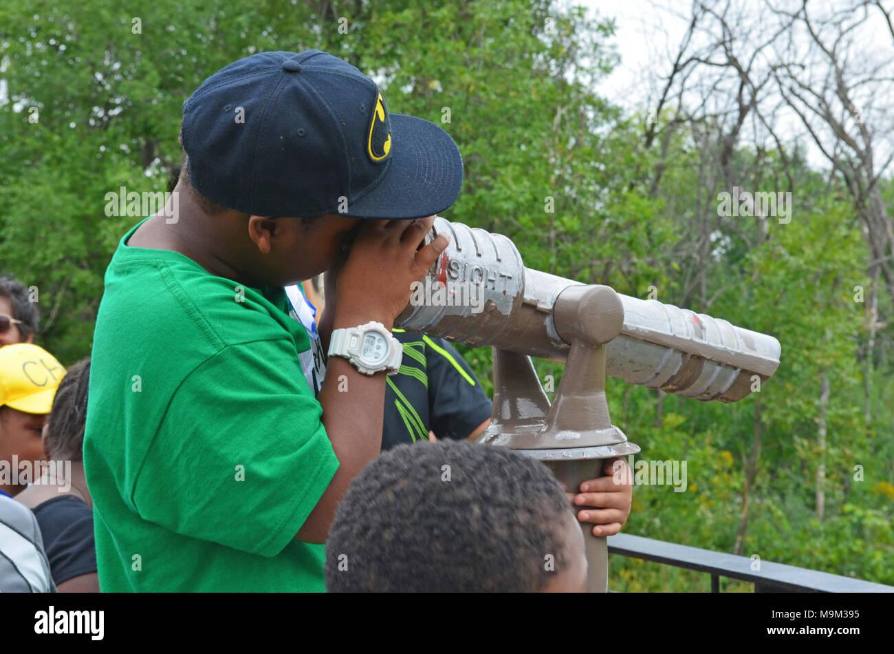 38c5c8fa7ba Birding at Minnesota Valley National Wildlife Refuge Stock Photo ...