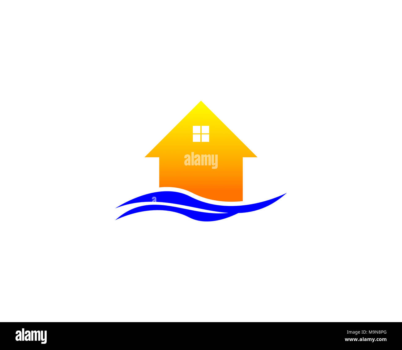 Is A Symbol Associated With Beachside Homes Stock Photo 178103480