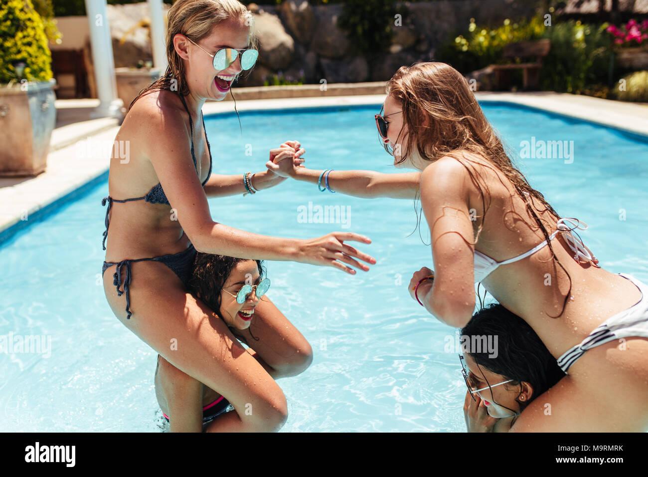 Words... super, bikini fight girl matchless