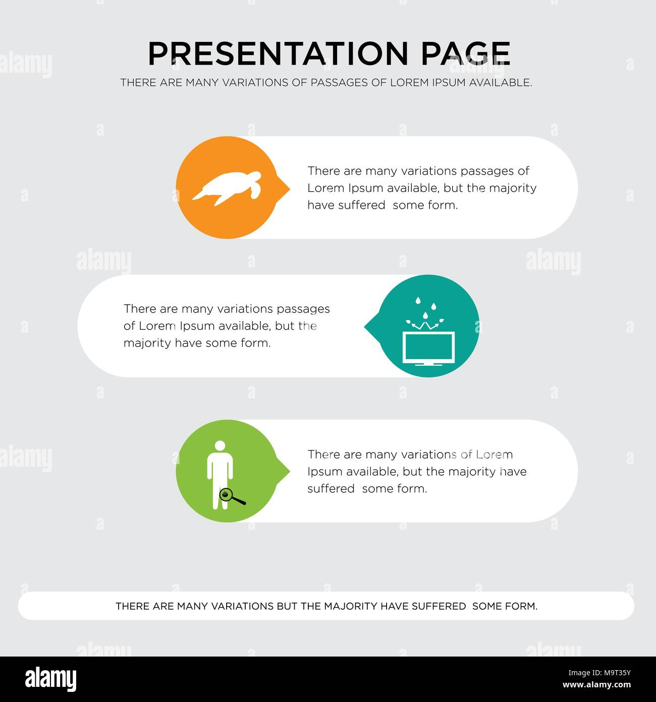 Inflammation Resistant Sea Turtle Presentation Design Template In