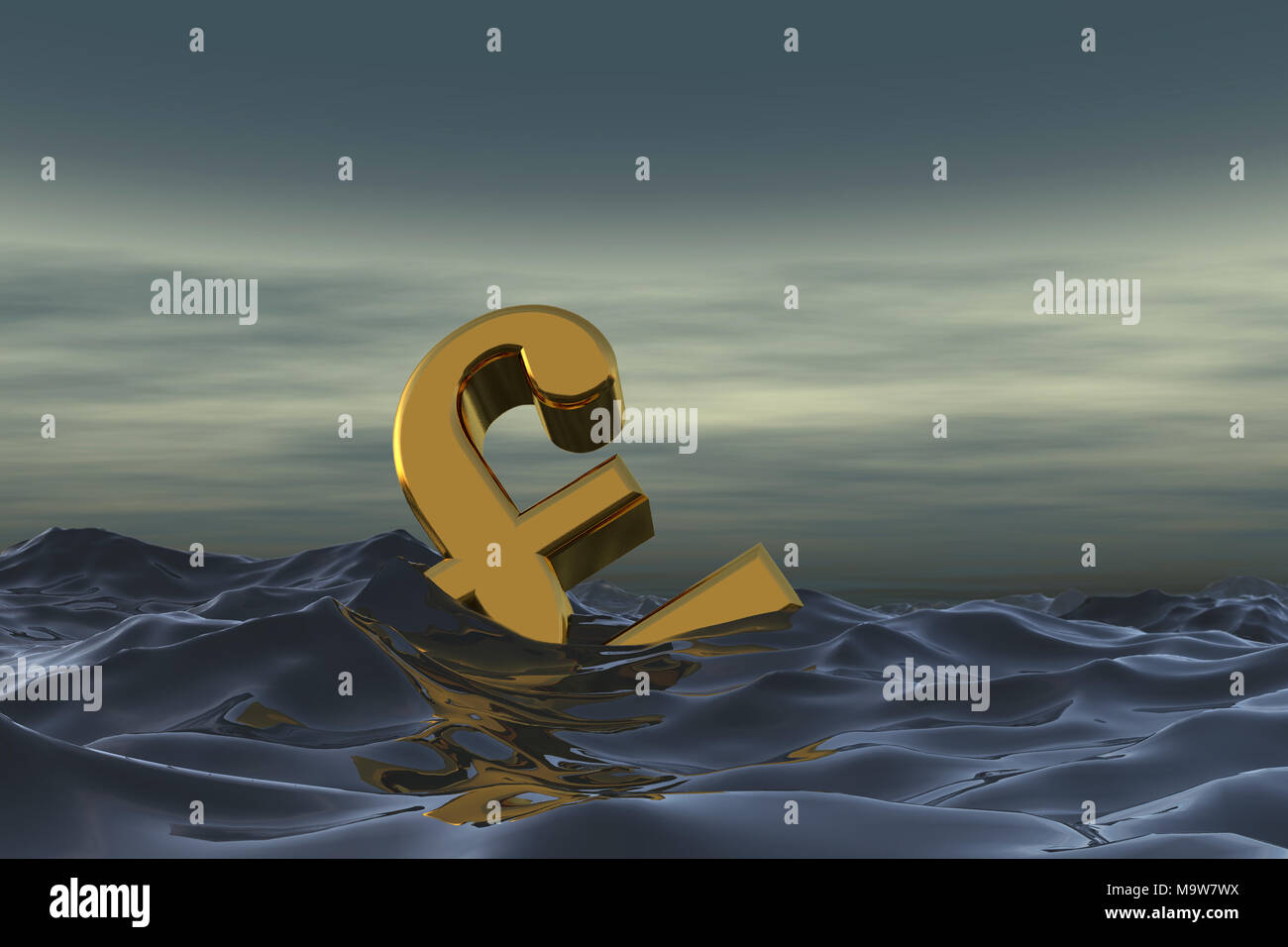 Rescue float stock photos rescue float stock images page 17 alamy british pound sterling symbol at sea drowning in debt financial problem concept 3d rendering biocorpaavc Gallery