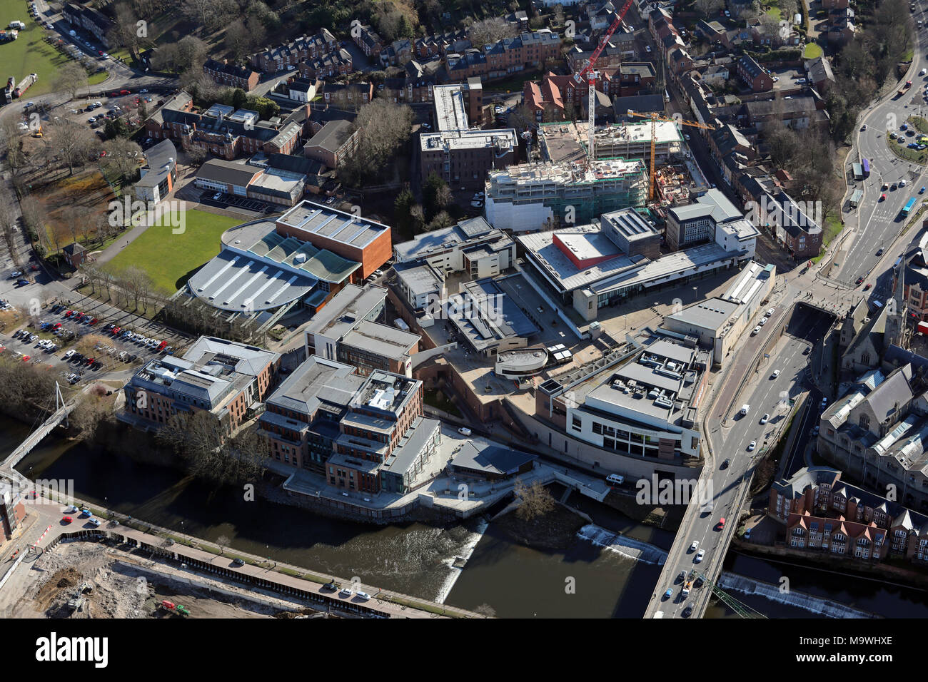 Aerial View Of Hm Passport Office Durham Freeman S Quay Leisure