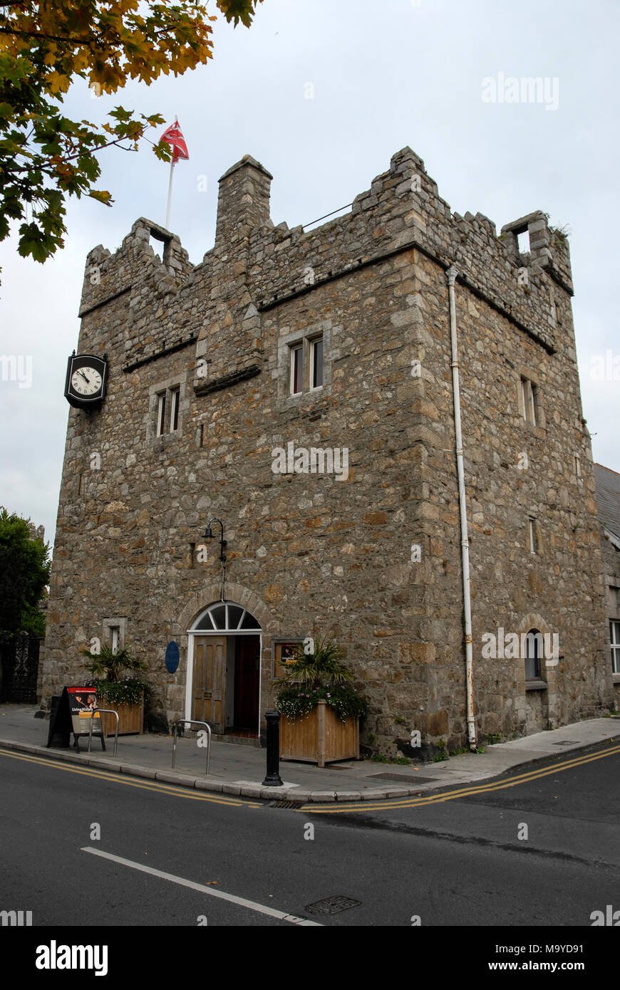 the village of dalkey a residential suburb south of dublin city