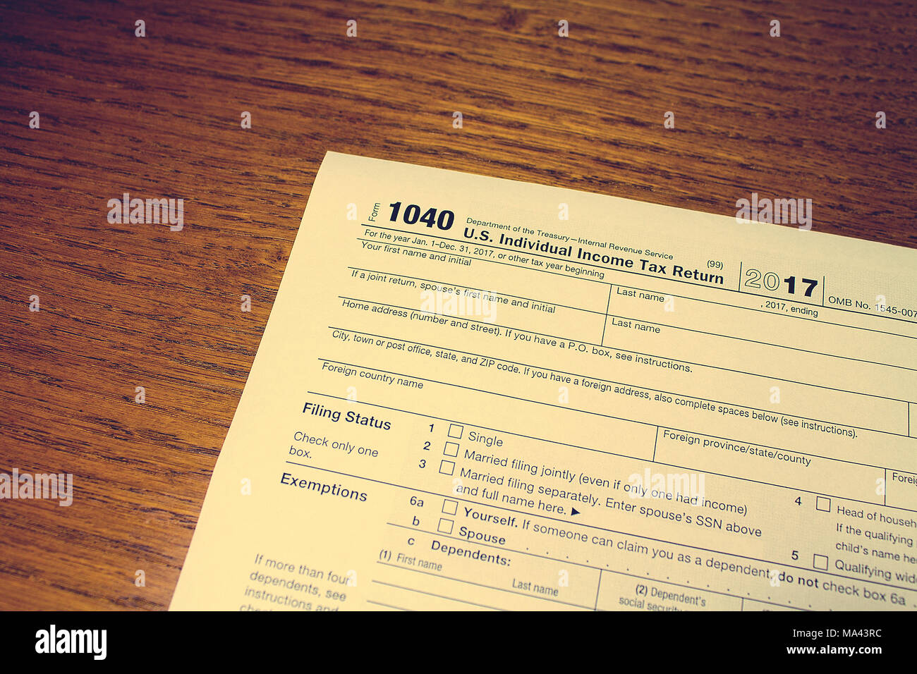 1040 tax form stock photos 1040 tax form stock images alamy tax day the tax form 1040 is on a wooden table stock image falaconquin