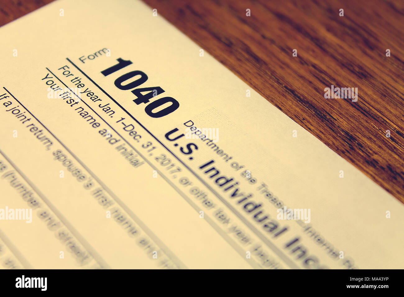 1040 income tax form stock photos 1040 income tax form stock tax day the tax form 1040 is on a wooden table stock image falaconquin