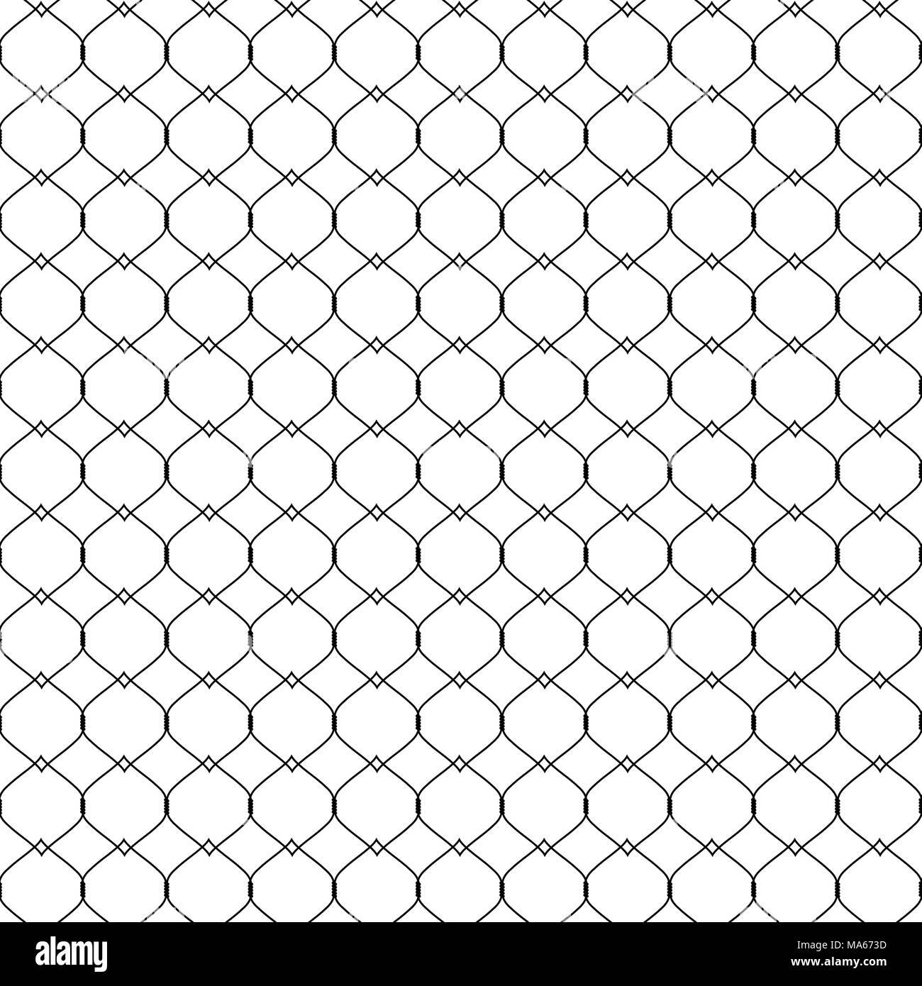 Fishnet Pattern Simple Inspiration Design