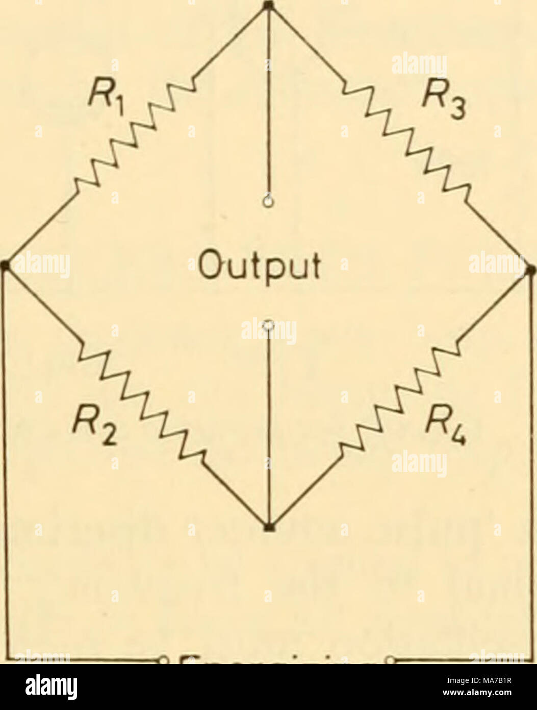 Electronic Apparatus For Biological Research Energizing Circuit As Shown In Fig This Can Be A Voltage Signal Figure 3334 Wheatstone Bridge Phase With Each Other Simple Rectification Distinction Disappears