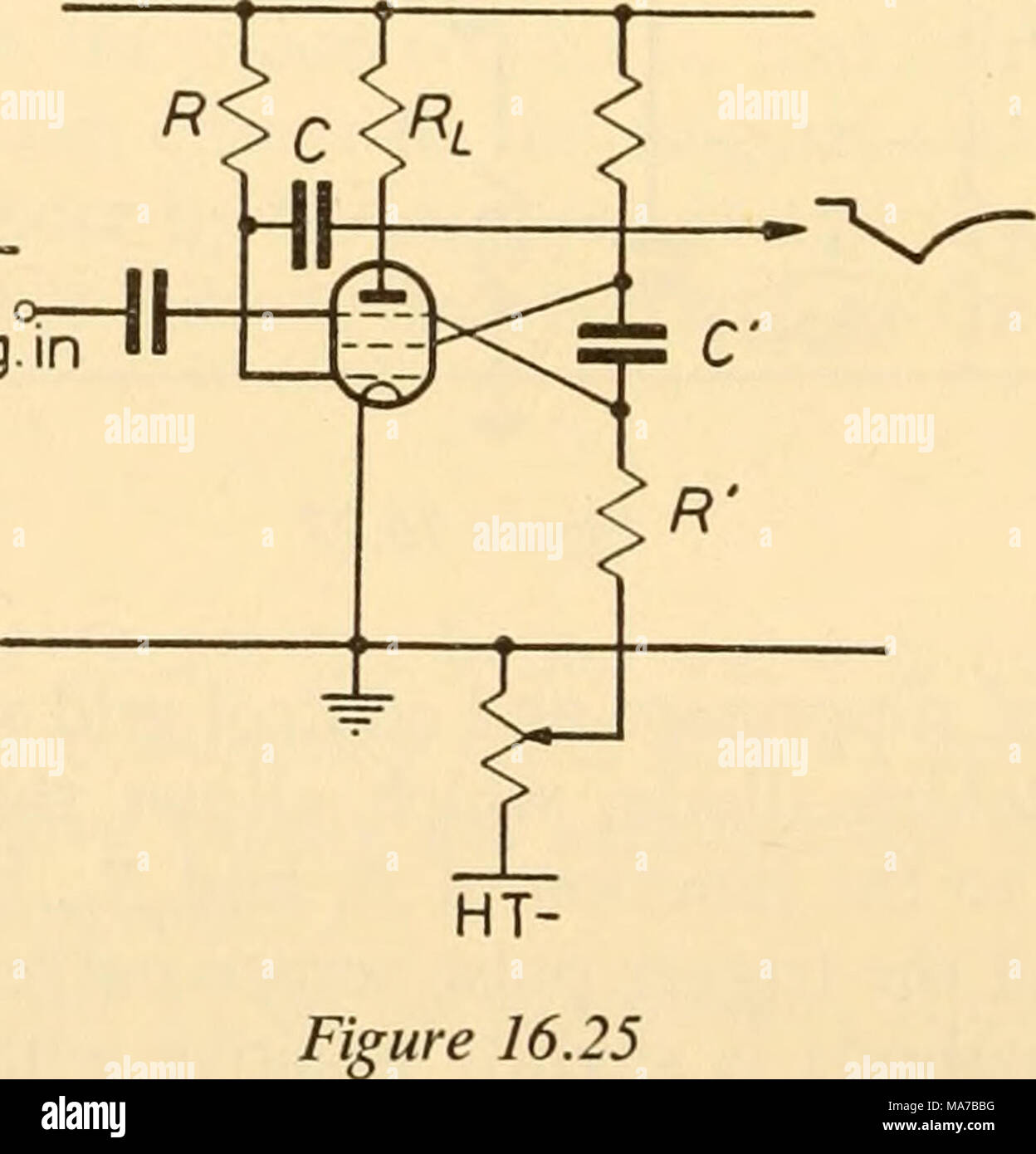 Electronic Apparatus For Biological Research In The Latter Circuit App Suppressor Bias Is If