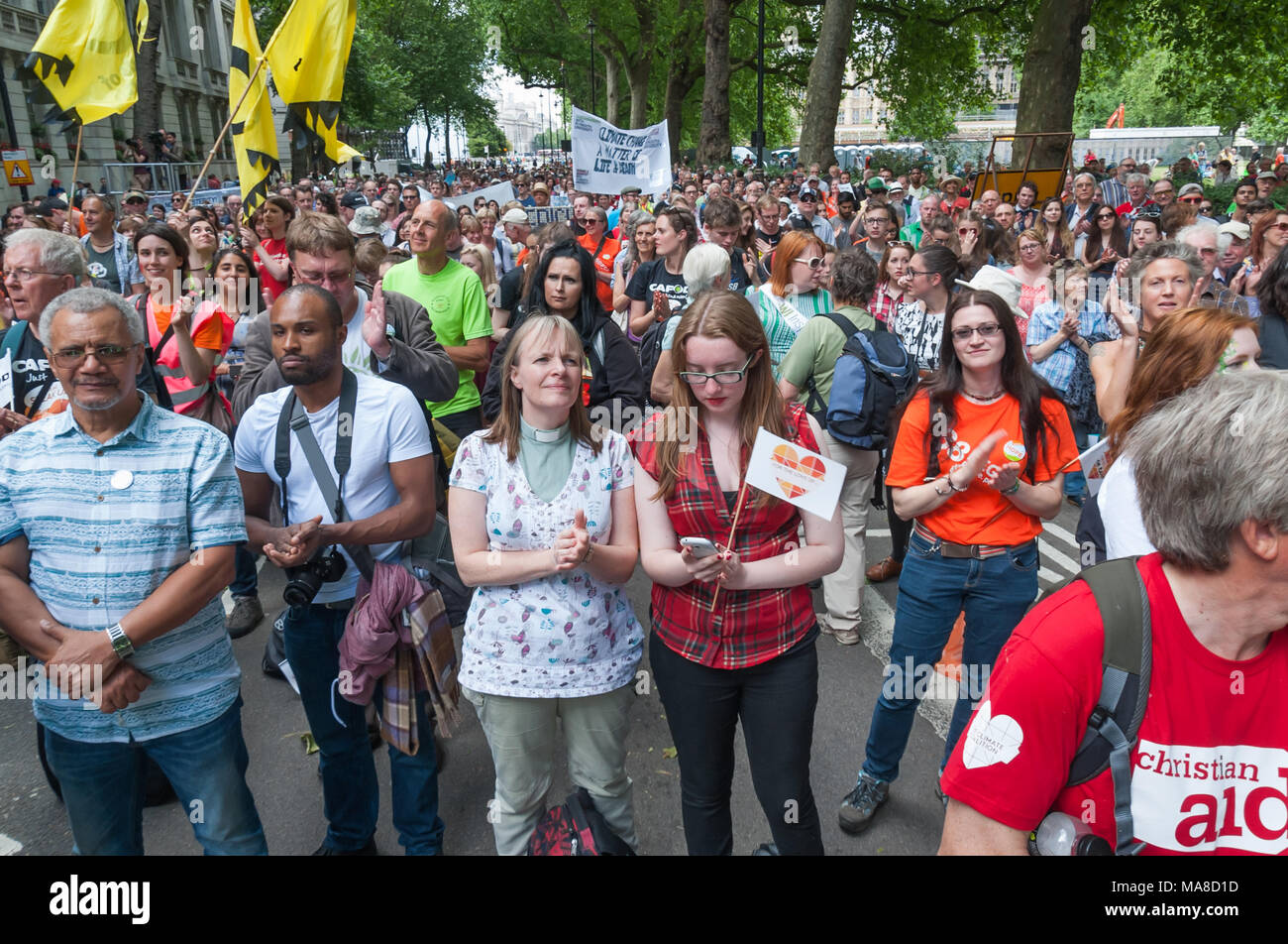 People Stood In Millbank And Sat In Victoria Gardens For The Rally At The  End Of The Mass U0027#fortheloveofu0027 Lobby By Around 9000 People By The Climate  Change ...