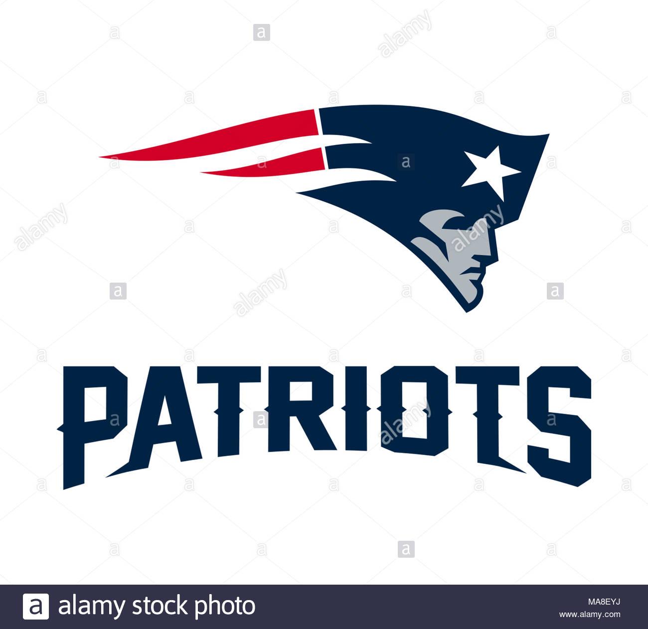 New England Patriots Logo Icon Stock Photo 178437606 Alamy