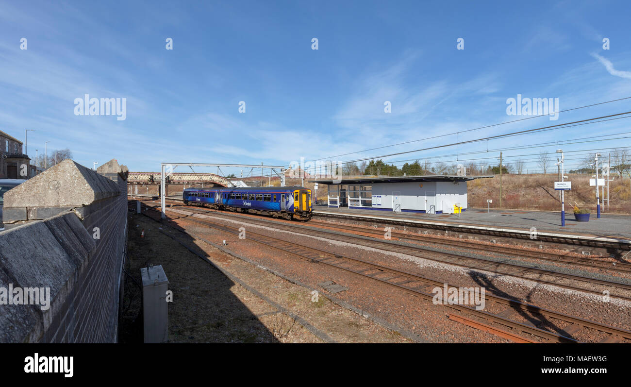 Cummins station stock photos cummins station stock images alamy a scotrail class 156 sprinter train calling at carstairs junction station scotland on the west biocorpaavc Images