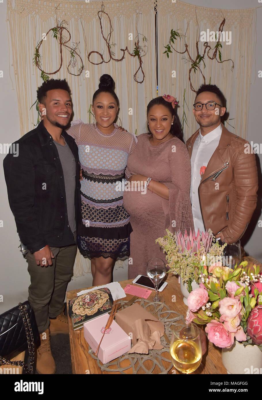 Beverly Hills Ca 31st Mar 2018 Tamera Mowry Tia Mowry Tahj