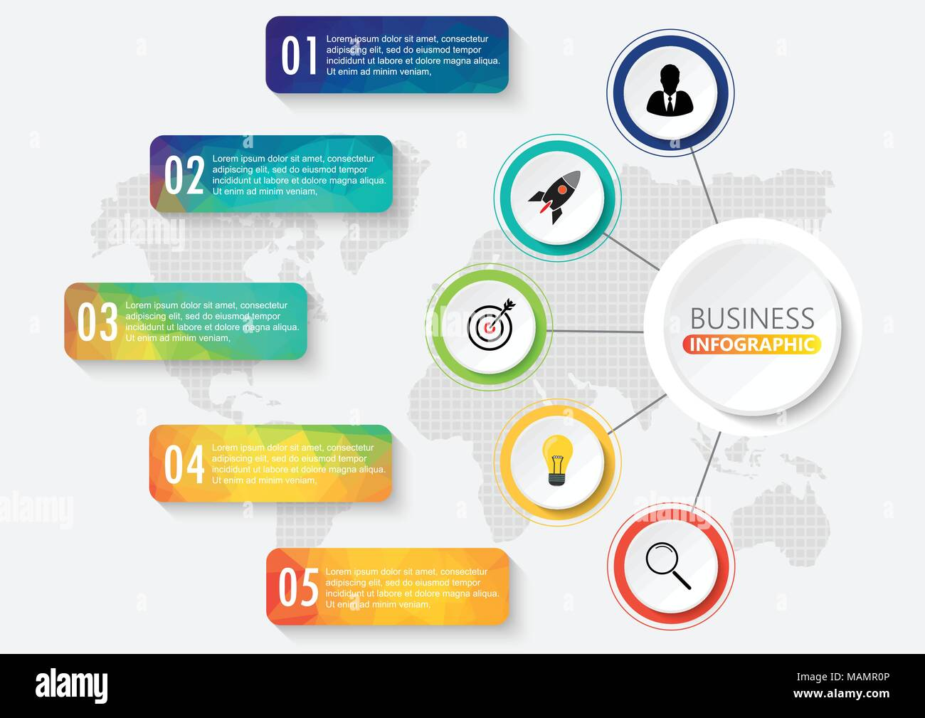 Infographics design vector and marketing icons can be used for infographics design vector and marketing icons can be used for workflow layout diagram annual report web design business concept with 5 options s ccuart Image collections
