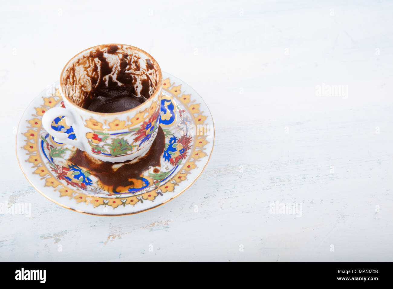 Fortune telling coffee stock photos fortune telling coffee stock a cup of turkish coffee traditionally using for fortune telling coffee fortune telling series buycottarizona Image collections