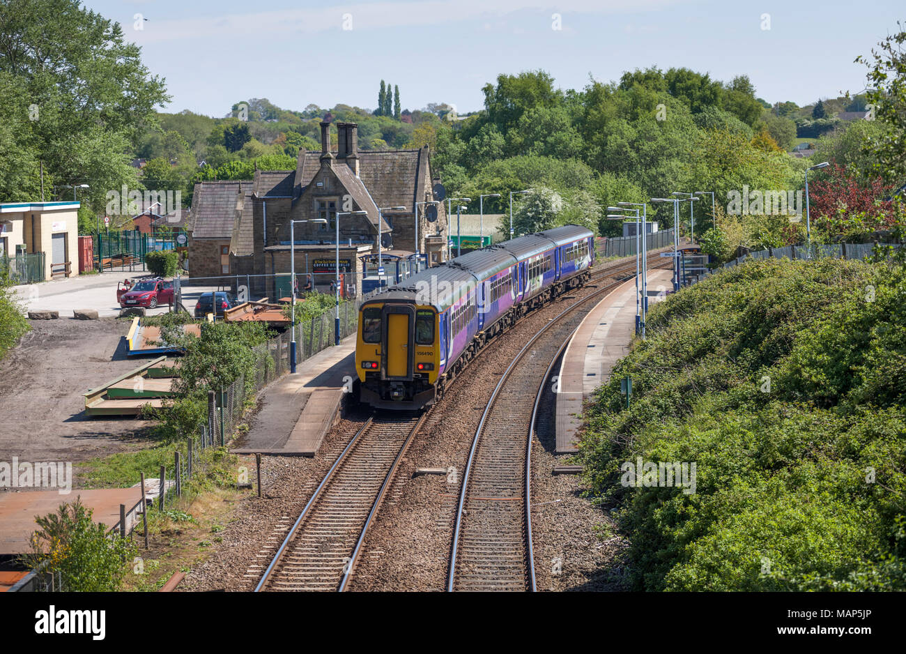 Cummins station stock photos cummins station stock images alamy northern rail class 156 sprinter trains at appley bridge railway station stock image biocorpaavc Images