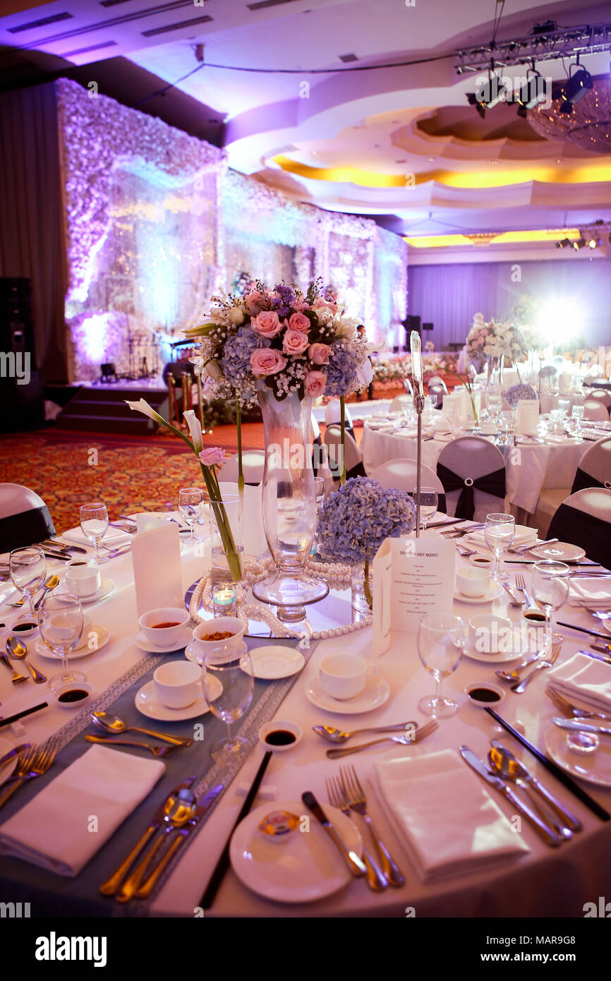 Decoration of formal event Stock Photo: 178762648 - Alamy