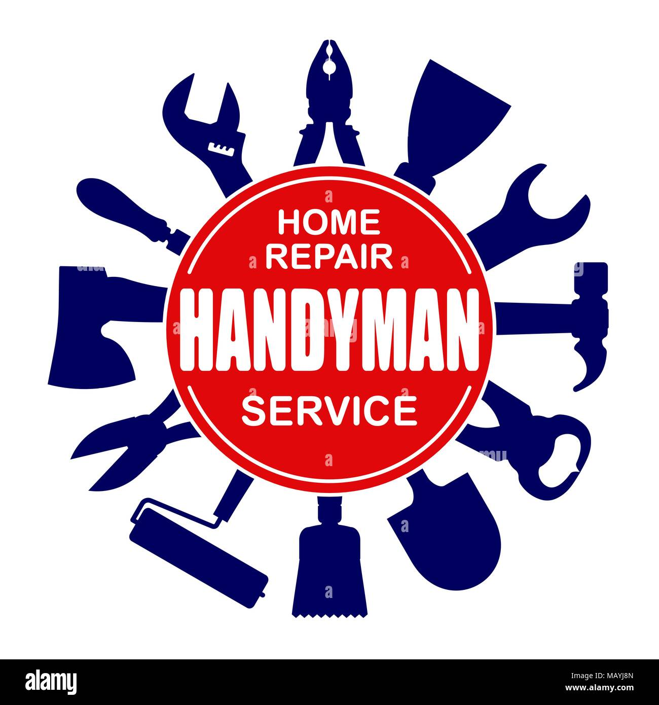 Handyman Vector Vectors Stock Photos & Handyman Vector