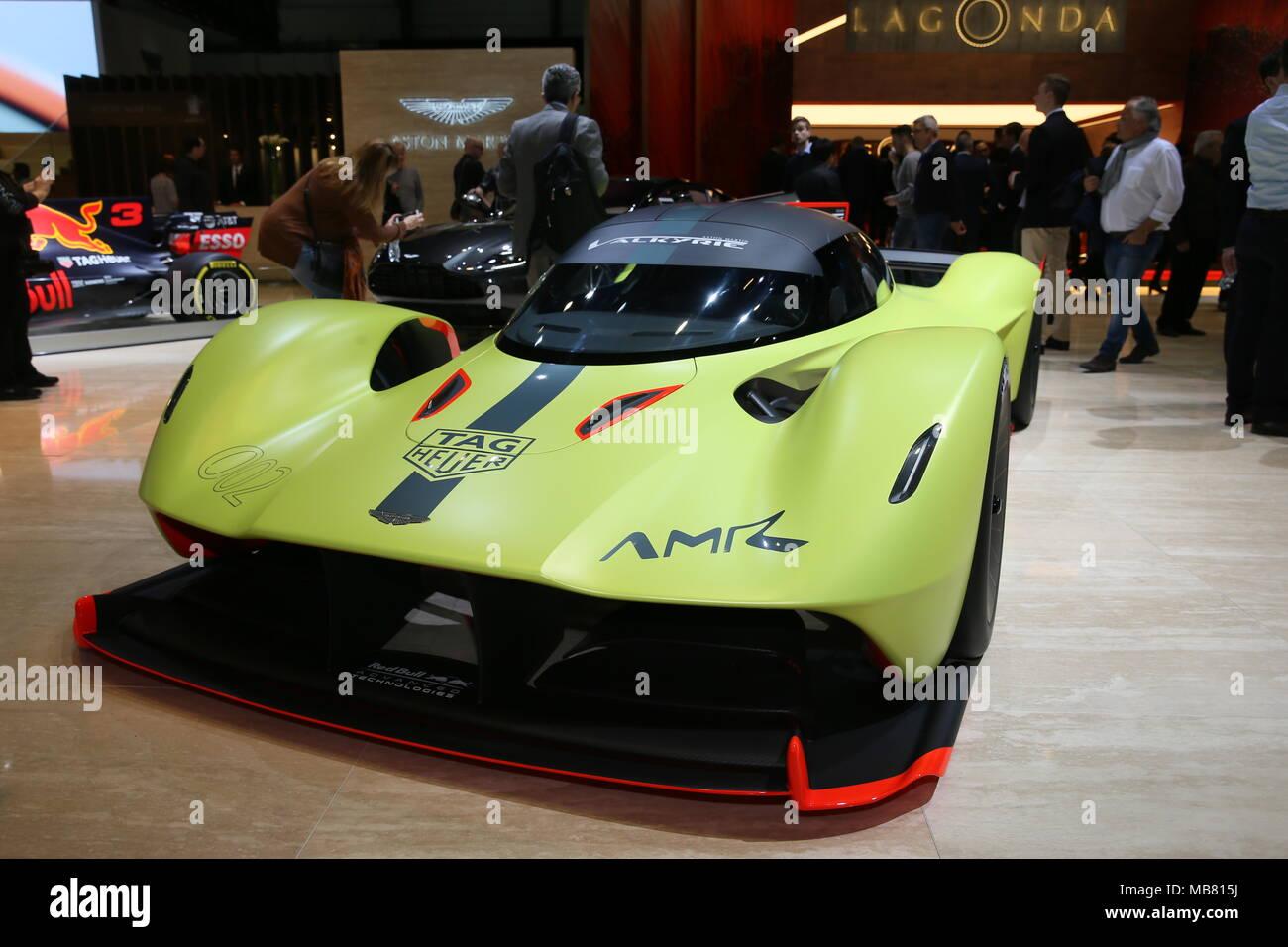 The Cars Of The Geneva International Motor Show Featuring Aston