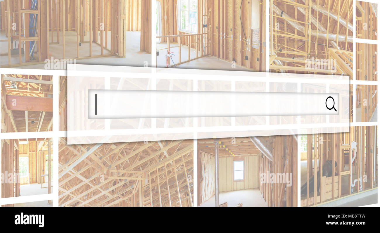 Frame of a wall and a ceiling of a wooden house, vapor barrier ...