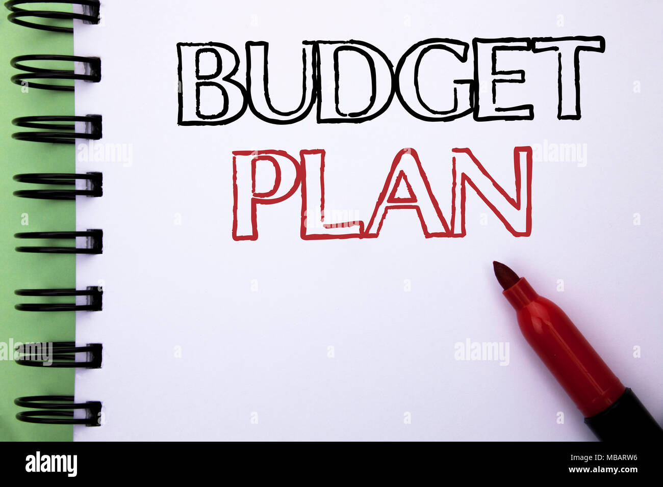 handwriting text budget plan concept meaning accounting strategy