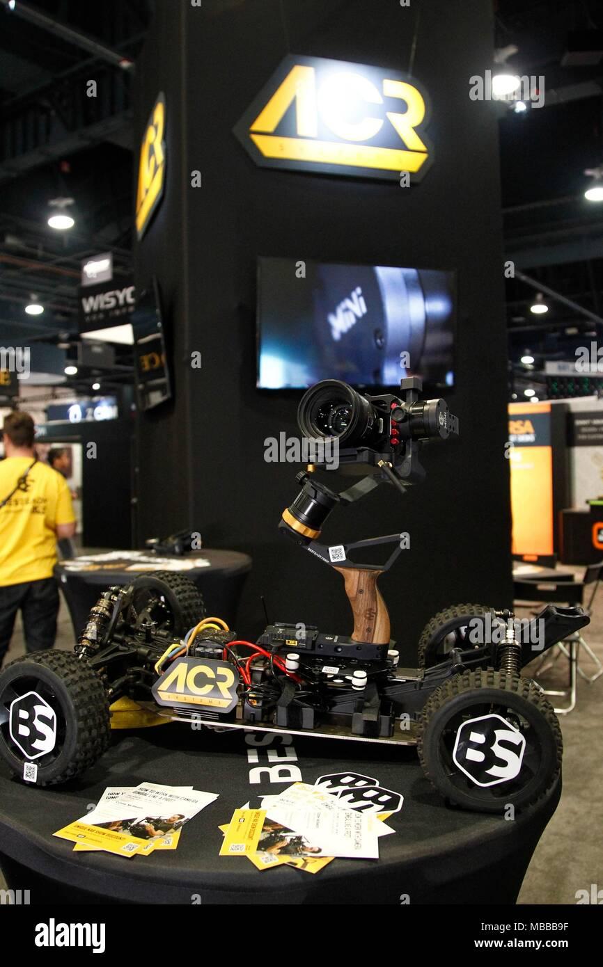 Las Vegas NV USA Th Apr Customized Remote Control Vehicle - Car show in vegas 2018
