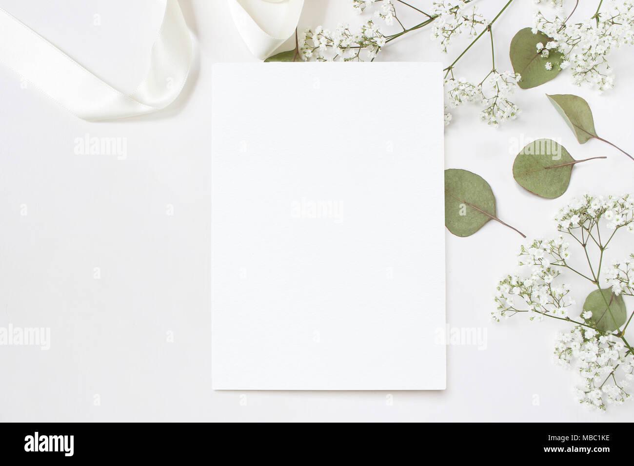 Styled Stock Photo Feminine Wedding Desktop Stationery Mockup With