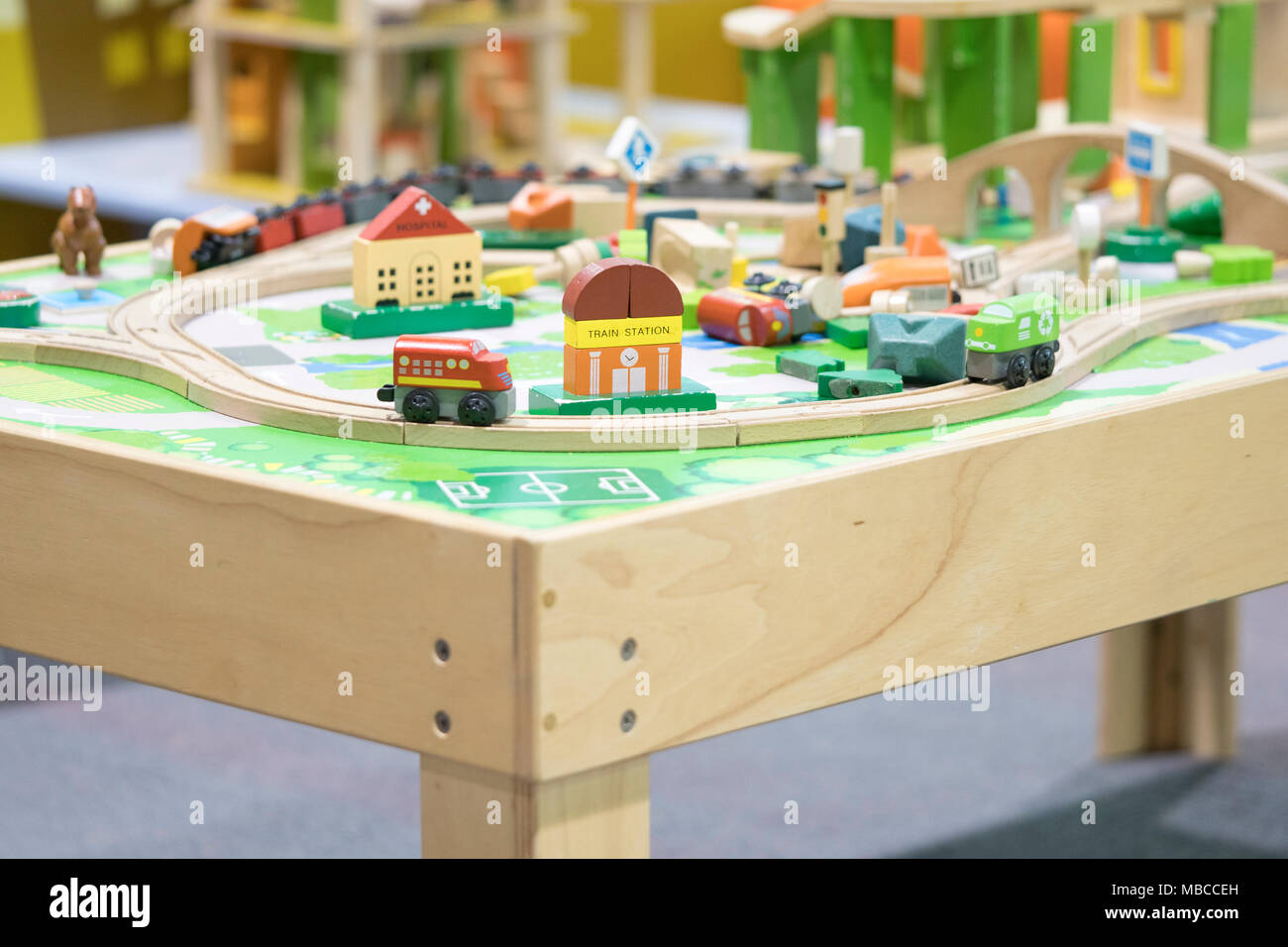 wooden toy train - Toys for kids Play set Educational toys for ...